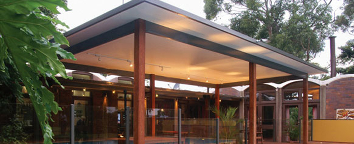 Insulated Flyover- Timber Gold Coast Patios